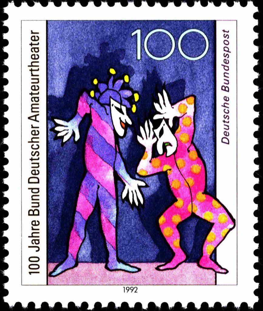 Pin Auf Deutschland 1990 2020 Germany Stamps 1990 2020