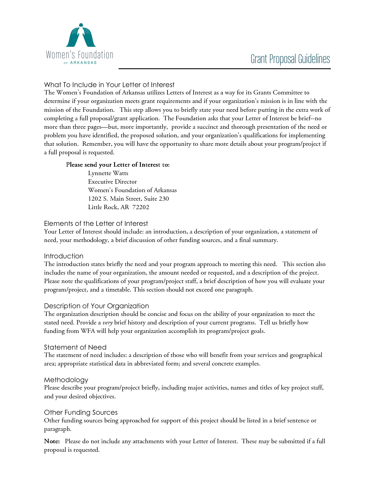 Free letter of interest templates letter of interest for Application for funding letter template