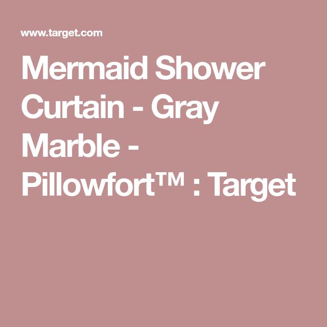 Pillowfort Mermaid Shower Curtain