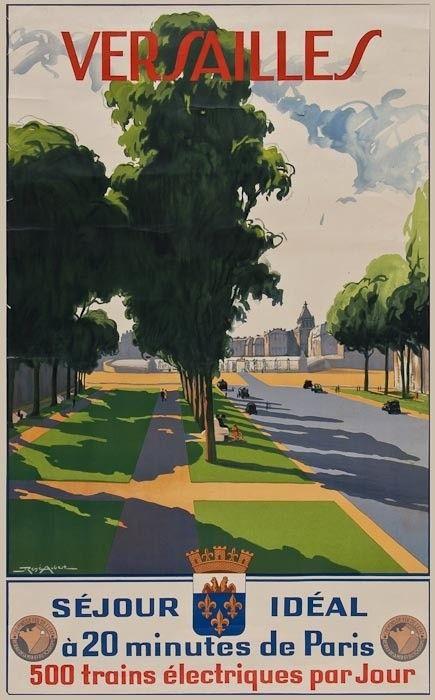 chemins de fer de l'état - Versailles - (René Aubert) -