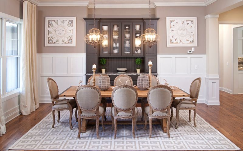 Image Result For Formal Farmhouse Dining Table Modern Farmhouse
