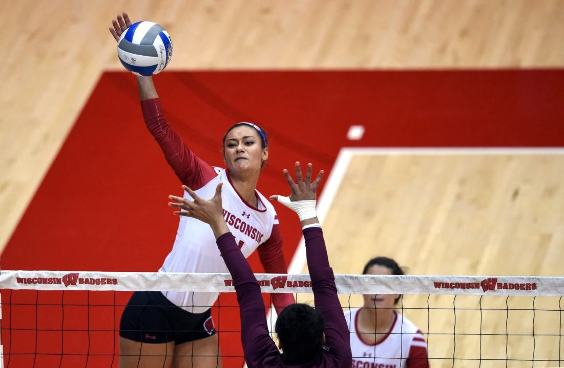 Wisconsin Middle Blocker Tionna Williams Shares About Recovering From Injury Playing On The Big Ten European Tour Team A Volleyball News Big Ten Training Camp