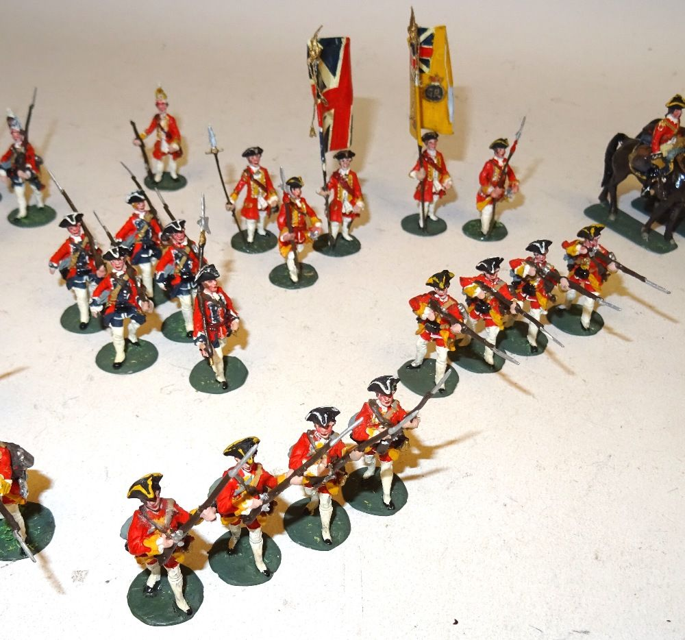 Lot 472 Willie 30mm figures, British Troops at the Battle
