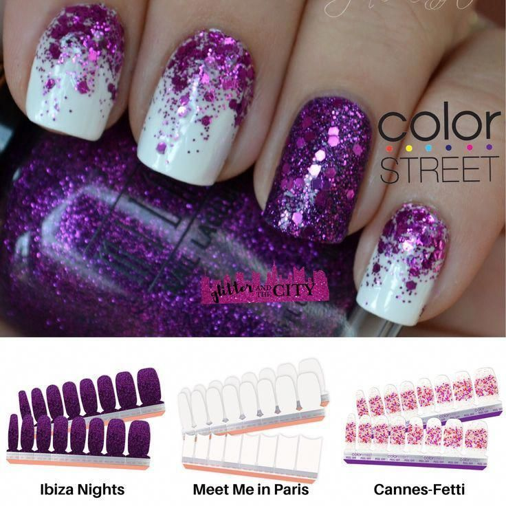 Pinterest Inspired Color Street Nails