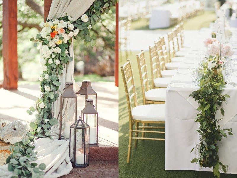 Blog de Organización de Bodas - Wedding Planner Madrid: Arreglos Florales Con Eucalipto Para Una Boda