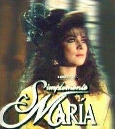 Simplemente Maria Telenovela Mexicana Victoria Ruffo