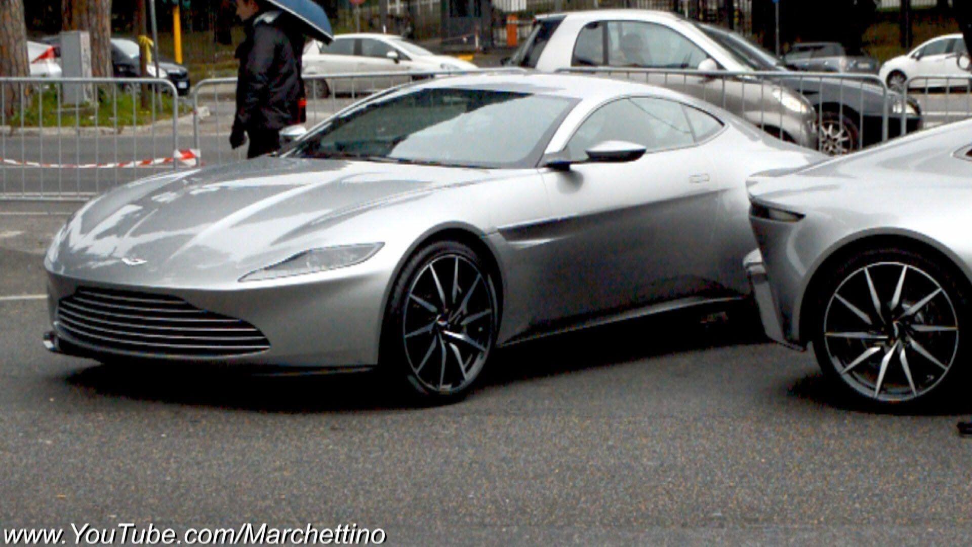 Cars Aston Martin Db10 Filming James Bond 007 Close Call