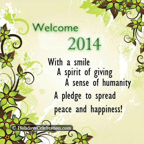 New Year Wishes | Send Happy New Year Wishes 2014 | Pearls of Wisdom ...