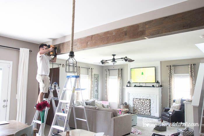Ригель в квартире дизайн фото