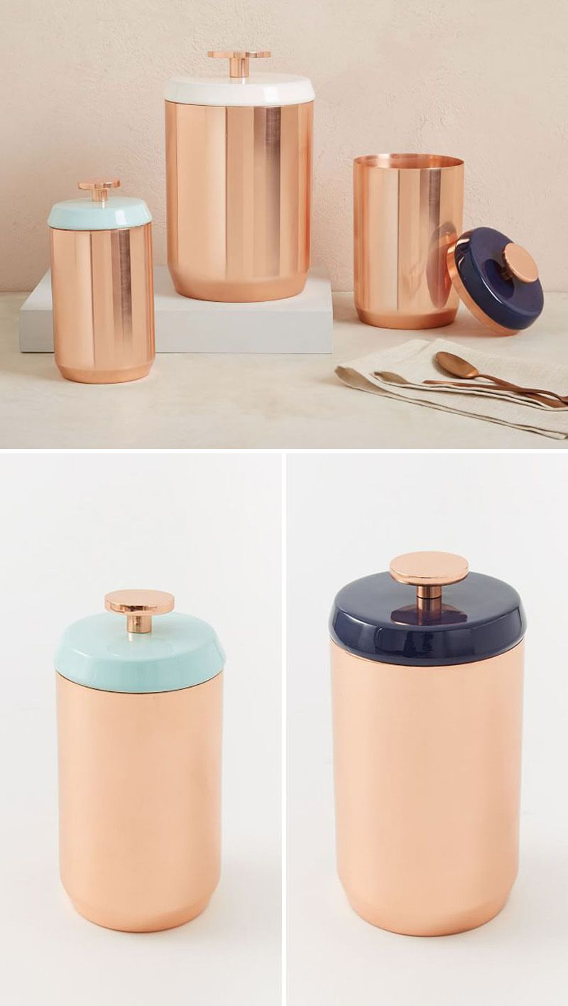 keep your food and decor fresh with these 13 modern jars and