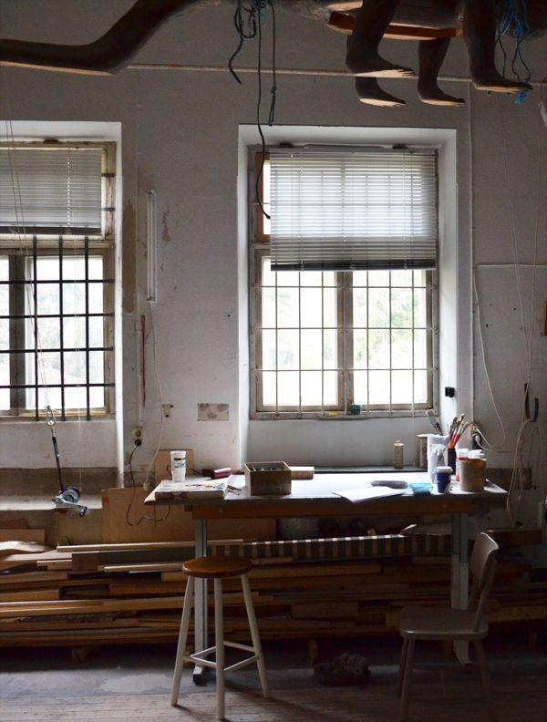 Camilla's studio