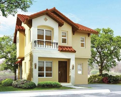 Chopin House Model Mission Hills Havila Two Story House Design Bungalow House Design House Designs Exterior