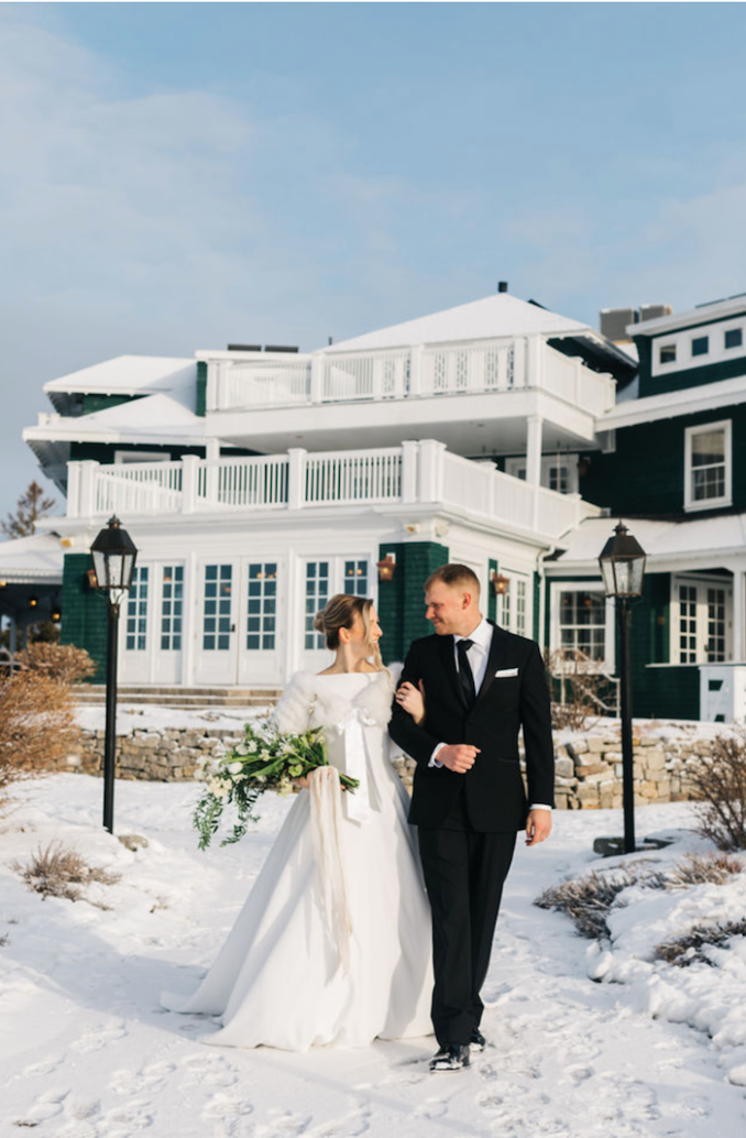 Manhattan Glam Meets Winter in Maine at This Art-Deco ...