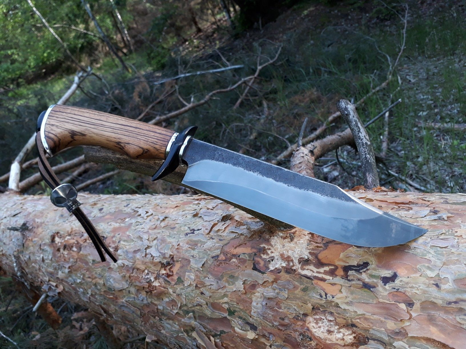 Forged Bowie Knife Hand Forged Knife Bowie Knife Forged Knife