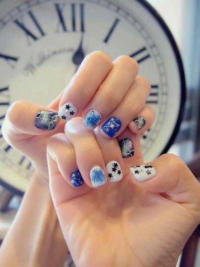 ☆☆☆I love Galaxy☆☆☆ #gelnails #gelart #gelcolor #nail #nailart  #swagg #nailartdesign #nailartlover #nails2inspire #nailswag #nailsoftheday #nailsclub #nailstagram #nailsbyhelencawaii #ゲルアート #ジェルネイル #ネイル #ネイルアート