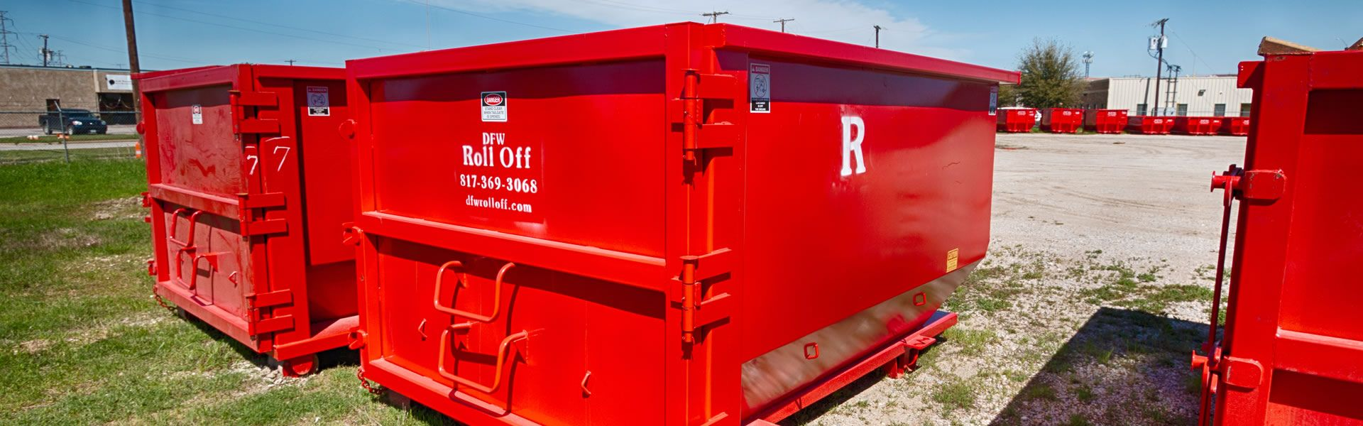 Get dumpster rental services in dallas dfw roll off