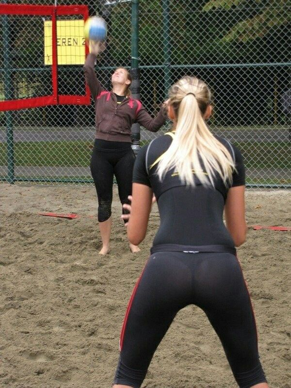 Sexy girls who are showing off those tight yoga pants