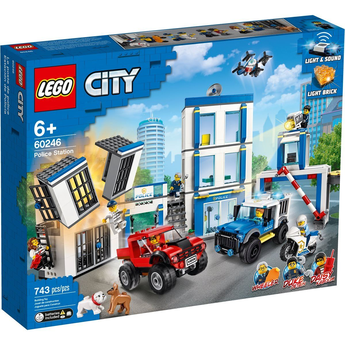 Lego 60246 City Police Station Entertainment Earth Lego City Police Station Lego City Lego City Police