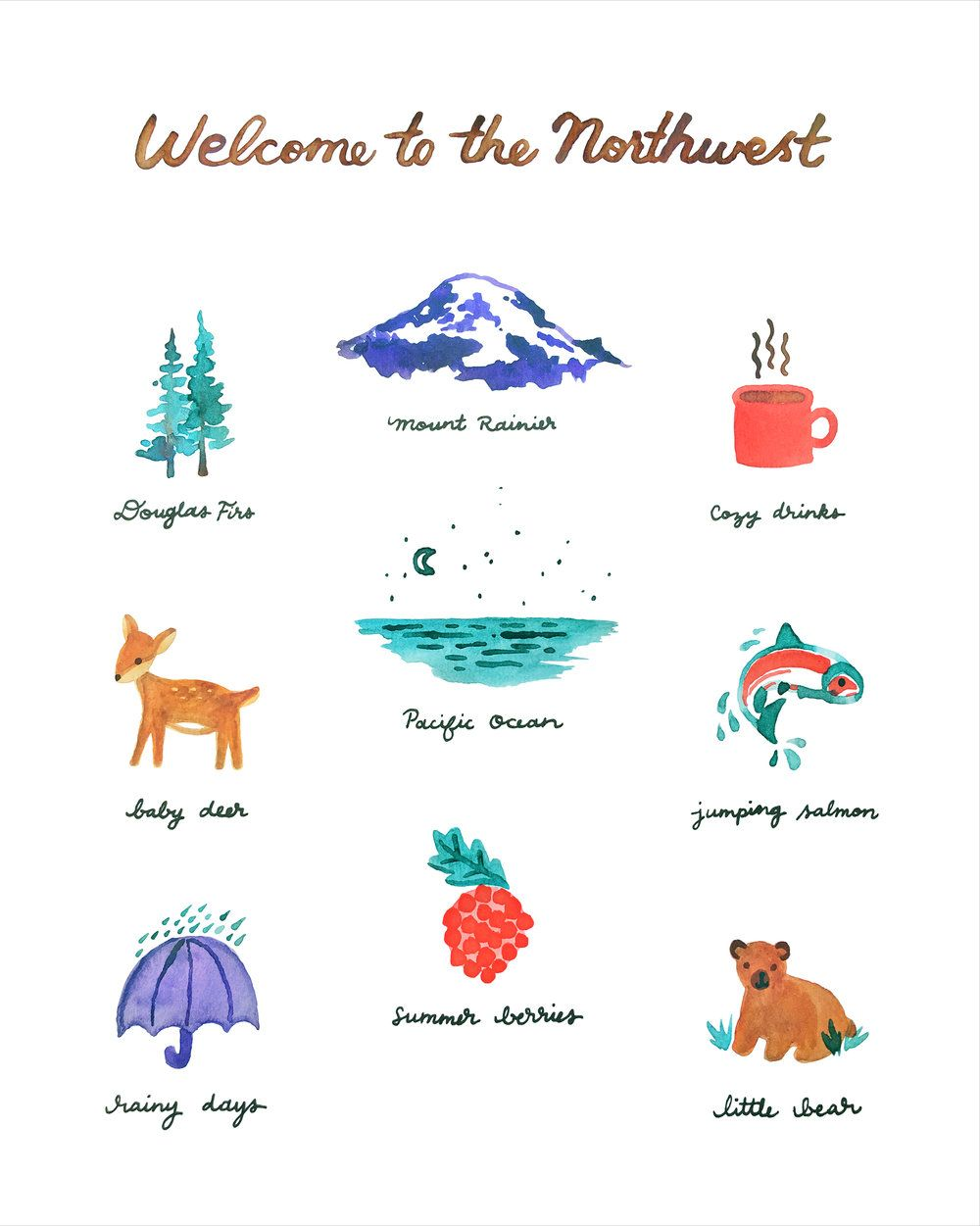 Northwest welcome u pretty bird paper co gifts that give