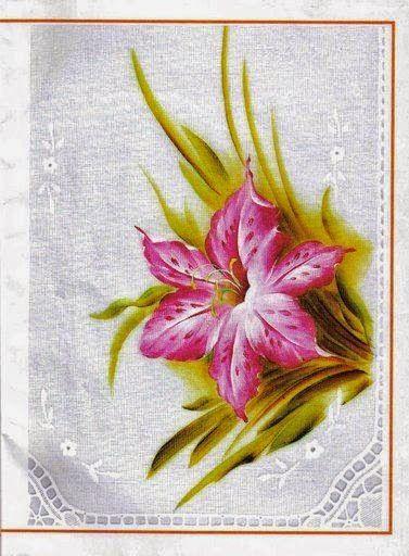 Manualidades Y Mas Flores Con Patrones Para Pintar En Tela Flores