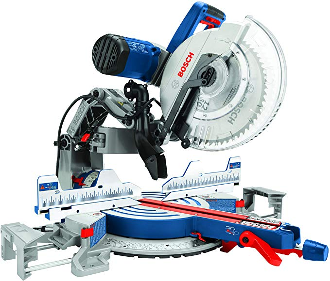 Bosch Power Tools Gcm12sd 15 Amp 12 In Corded Dual Bevel Sliding Glide Miter Saw With 60 Tooth Saw Blade Miter Saw Blade Miter Saw Bosch Miter Saw Mitered