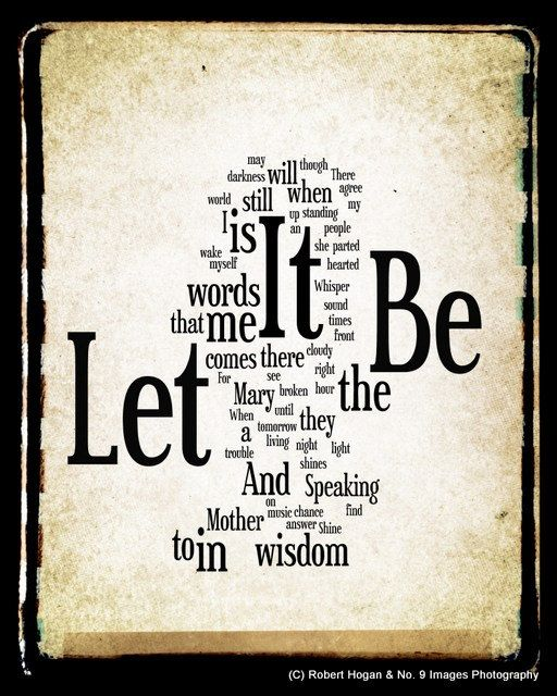 Lyrics for Let It Be by The Beatles - Songfacts