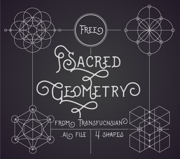 sacred geometry vectors