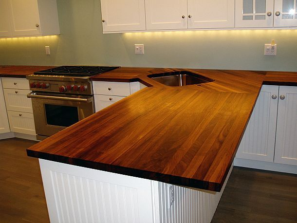 Edge Grain Countertops Outdoor Kitchen Countertops Wood