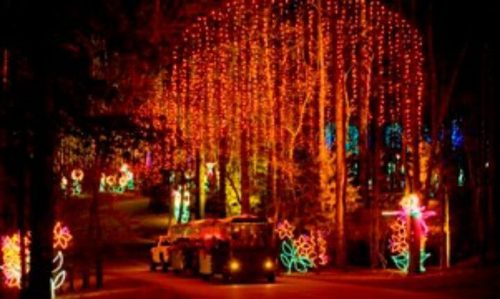 Callaway Gardens Christmas.Enchanted Rainbow Callaway Gardens Fantasy In Lights