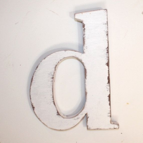 Wooden Letter D Lower Case 12 Inch Wall Hanging By Oldwoodtrader 30 00 Wooden Letters Wall Hanging Wooden