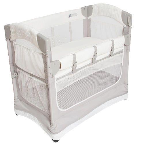 Arm S Reach Luxe Mini Arc Co Sleeper Bedside Bassinet