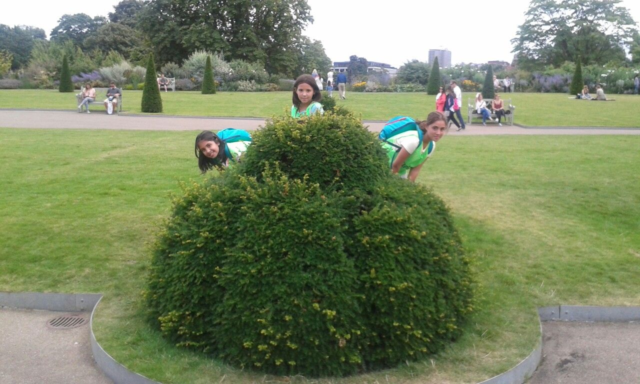 En los jardines del kensinton palace