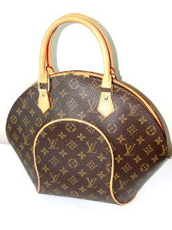 Louis Vuitton Monogram Canvas Ellipse MM Bag LIKE NEW