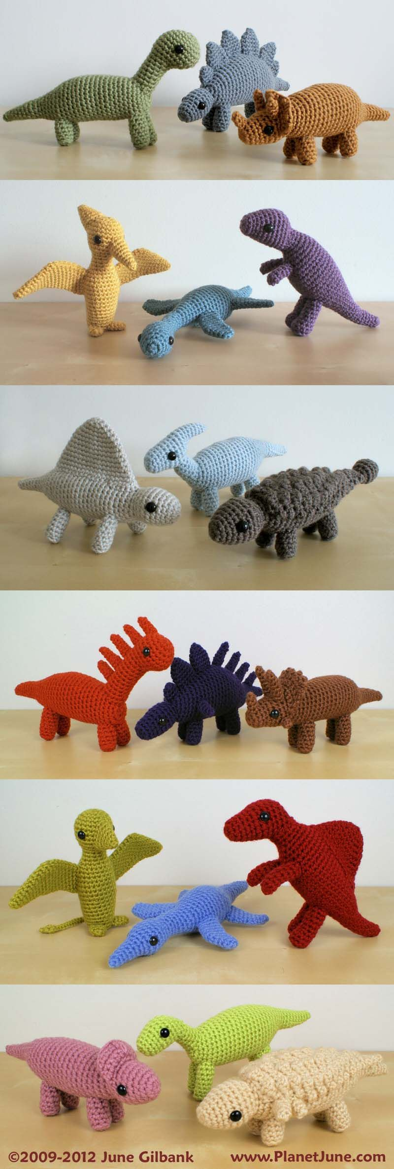 Colourful, chunky, and realistic - crochet 18 different species of ...