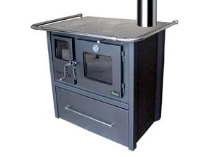 Cocina A Lena 4 Platos Combustion Lenta M80 Full Gris Charcoal