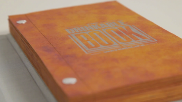 Extremely Simple & Affordable: The Drinkable Book! It Could Just Save Thousands Of Lives