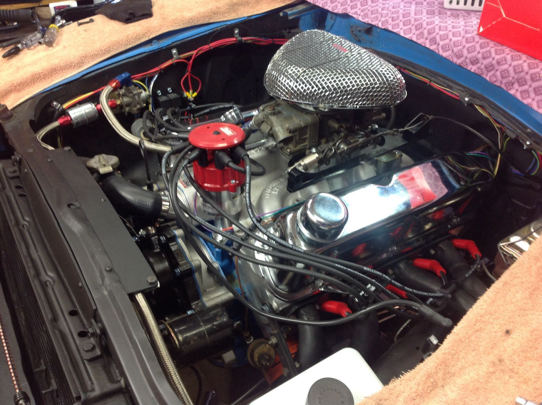 306ci crate engine small block ford style longblock aluminum blueprint engines customer robert thiel has recently installed our bp3060ct into his 1971 ford pinto robert loves his blueprint engine and becoming a malvernweather Images