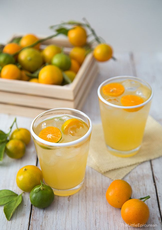 Calamansi Juice is the Filipino version of lemonade and limeade. It is super refreshing and best served ice cold. It tastes like a lemonade-limeade hybrid, but more tropical and aromatic