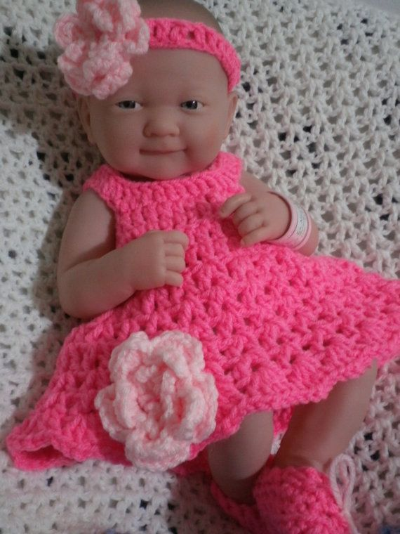 Items similar to Clothes For 14  inch and 9 inch Dolls.Dress set. on Etsy #babydoll