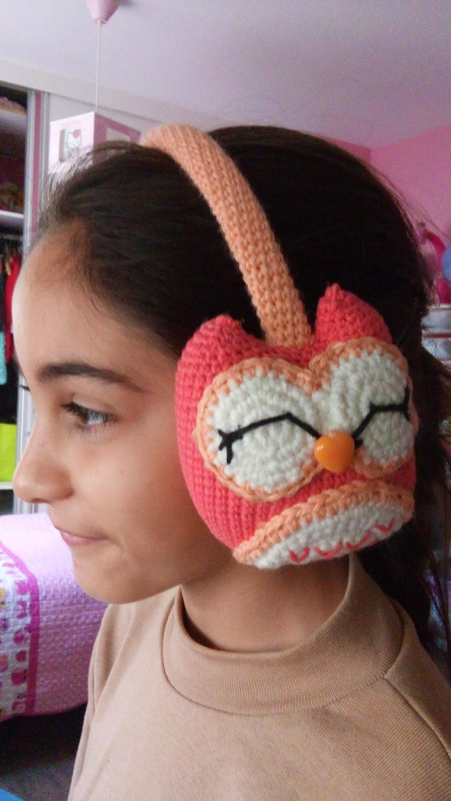 CANAL CROCHET: Orejeras crochet patrón libre. | tejidos | Pinterest ...