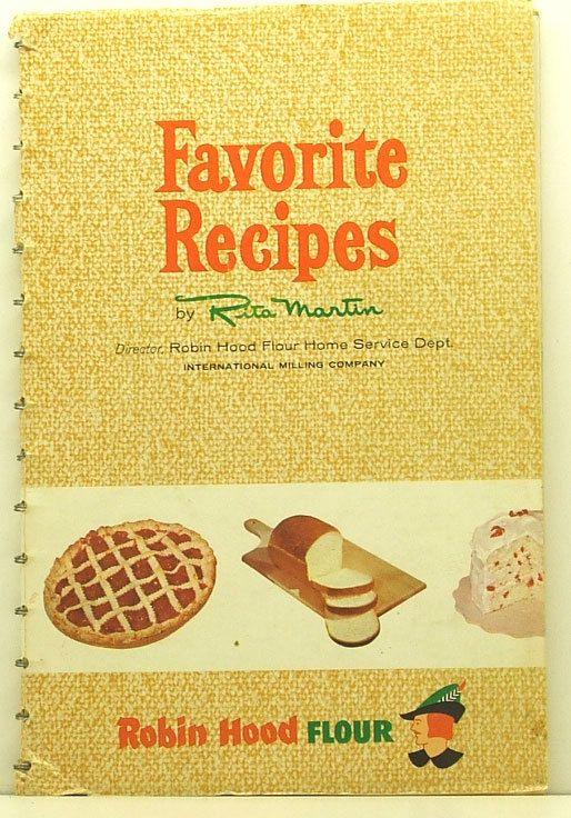 Favorite Recipes Robin Hood Flour 1957 Rita by