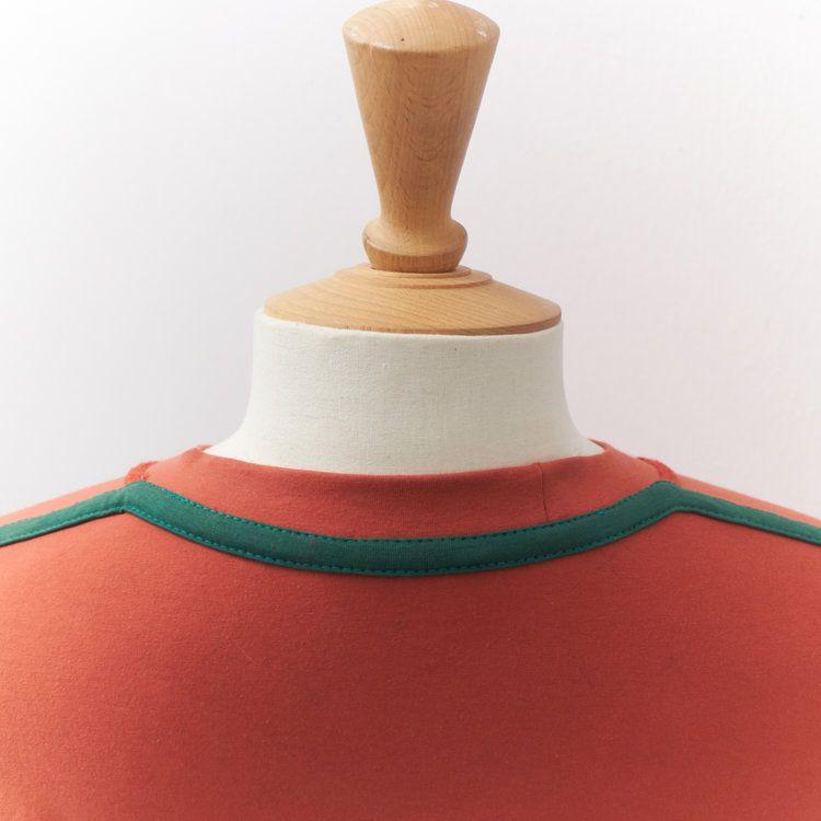 T-shirt Back Neck Binding (tutorial)