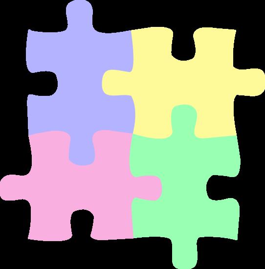 Lot de 4 Puzzle Coasters