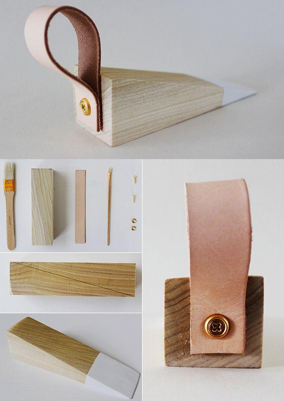 holz t rstopper selber machen basteln mit holz tiki pinterest basteln mit holz t rstopper. Black Bedroom Furniture Sets. Home Design Ideas