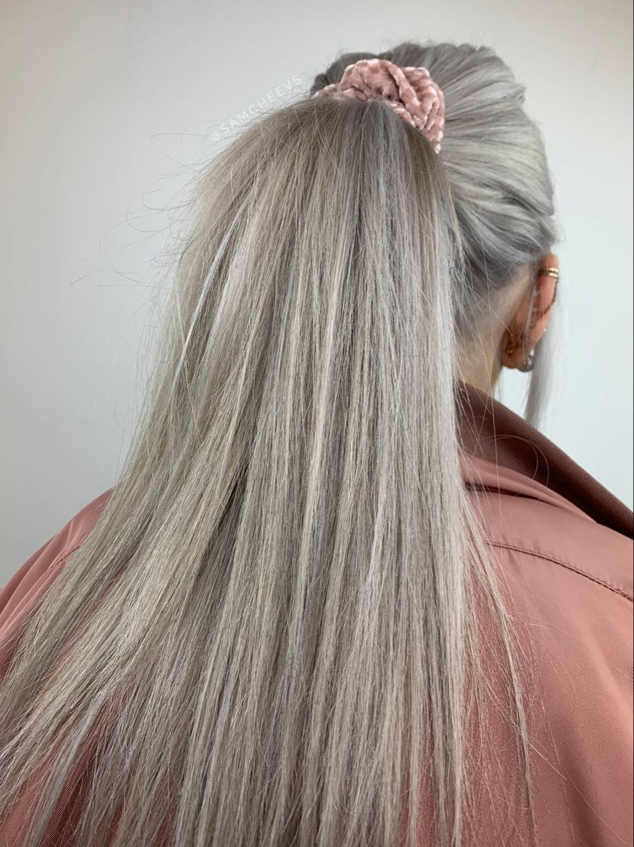 Solid White Ash Blonde Hair For Naturally Light Hair Types In 2020