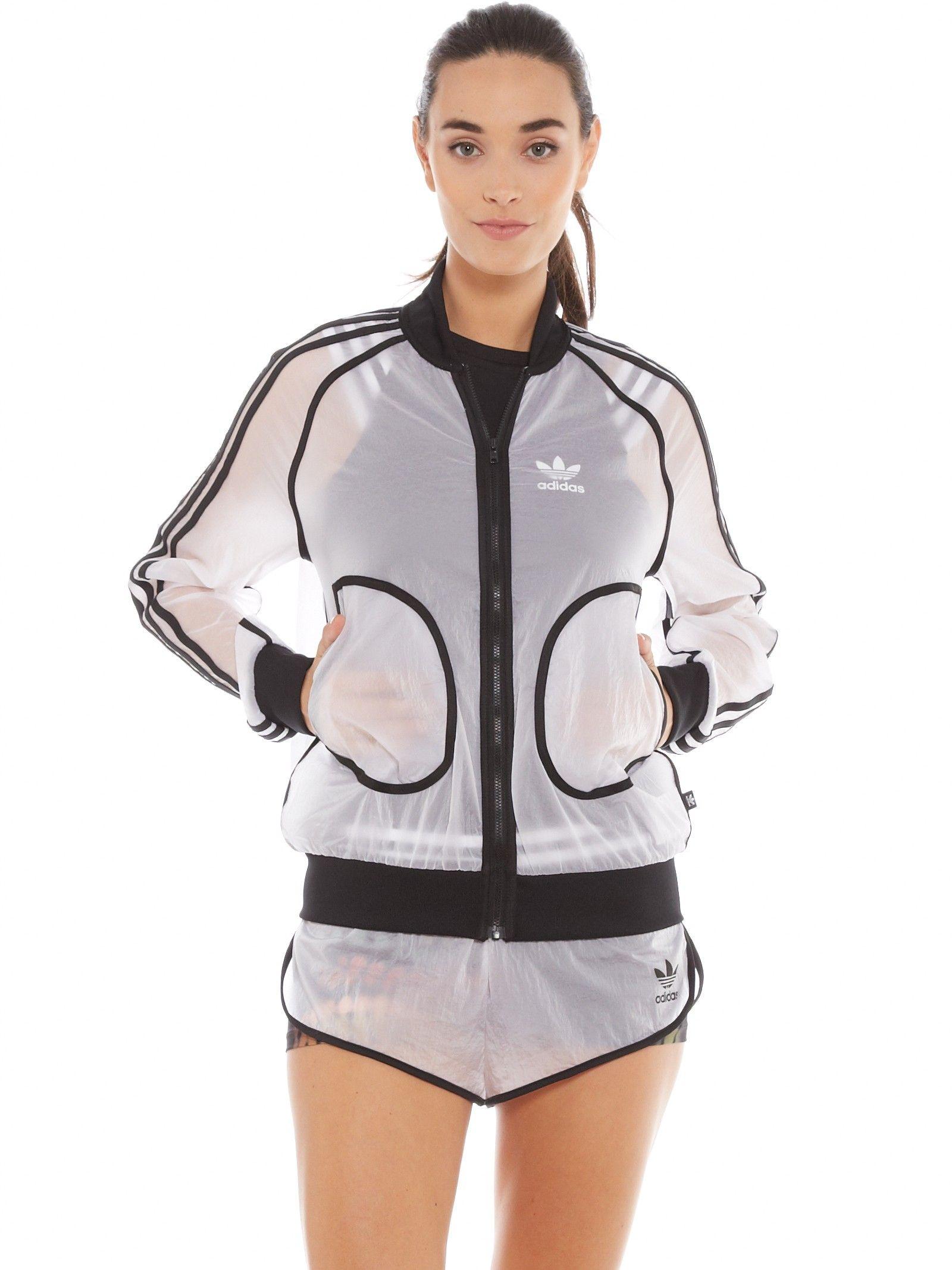 Rita Ora X Adidas Originals Transparent Shorts in White