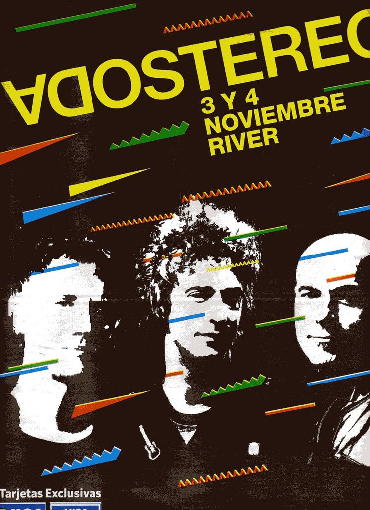Me Veras Volver Soda Stereo 2007 Soda Stereo Band Posters Poster Room