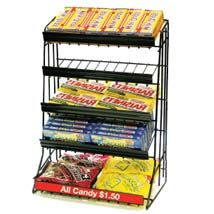 5 Tier Candy Counter Display Rack For The Movie Night Party