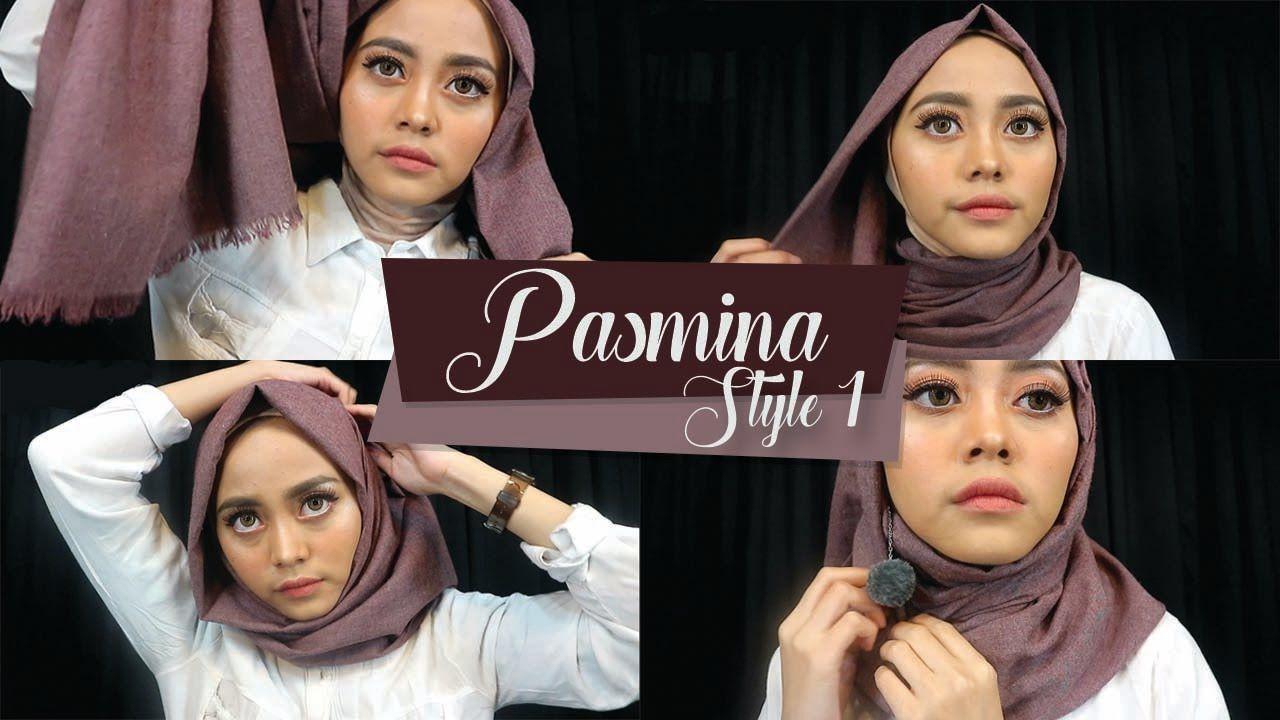 Tutorial Hijab Ibu Pejabat Simple