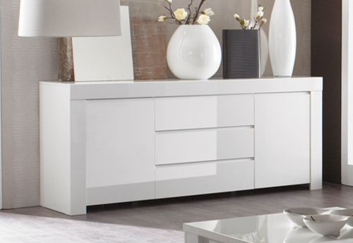 sideboard kommode wei hochglanz lack italien livorno2 1. Black Bedroom Furniture Sets. Home Design Ideas